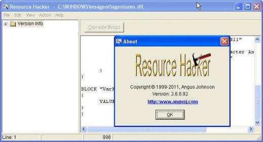 Resource hacker indir ( Wolfteam için )